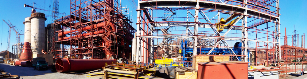 Construction of complex of coal treatment and injection into blast furnace for Dnepr Iron & Steel Works, PJSC