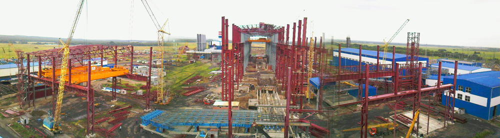 Construction of electric-furnace melting shop for Abinsk Electrical Metallurgical Plant, LLC
