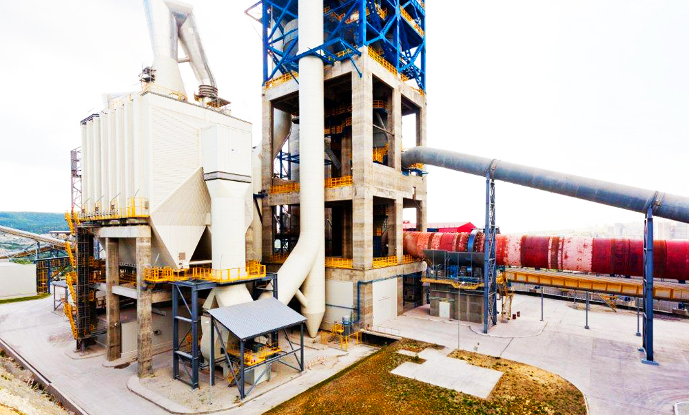 Construction of manufacturing line with a capacity of 2.3 tons of cement per year at Verhebakansky Cement Plant, JCS